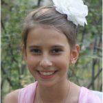 Евдокия Удалова, ученица детской воскресной школы при храме преподобного Сергия Радонежского