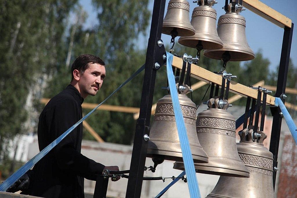 Константин Пильгуй, звонарь храма преподобного Сергия Радонежского, город Челябинск