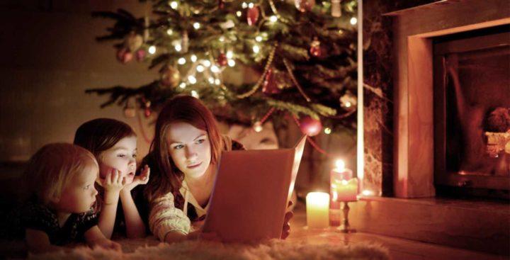 Чтение книги о Рождестве Христовом