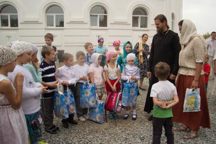 В воскресной школе храма преподобного Cергия Радонежского начинается учебный год
