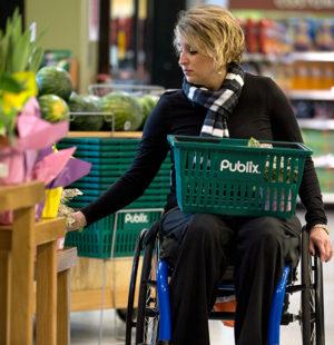 колясочники в магазинах