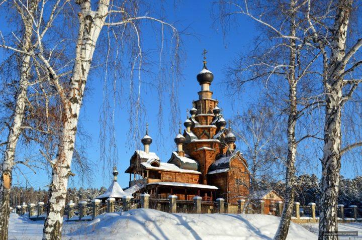 Храм в Верхн. Санарке