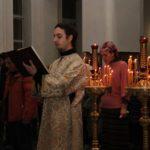 Приглашаем на литургию в Новый год!