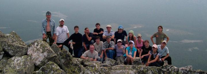 Восхождение на гору Иеремель, 2010г