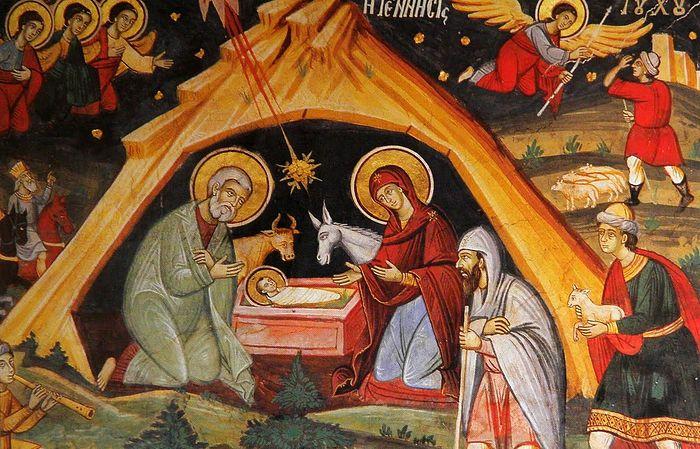 Рождество Христово, икона