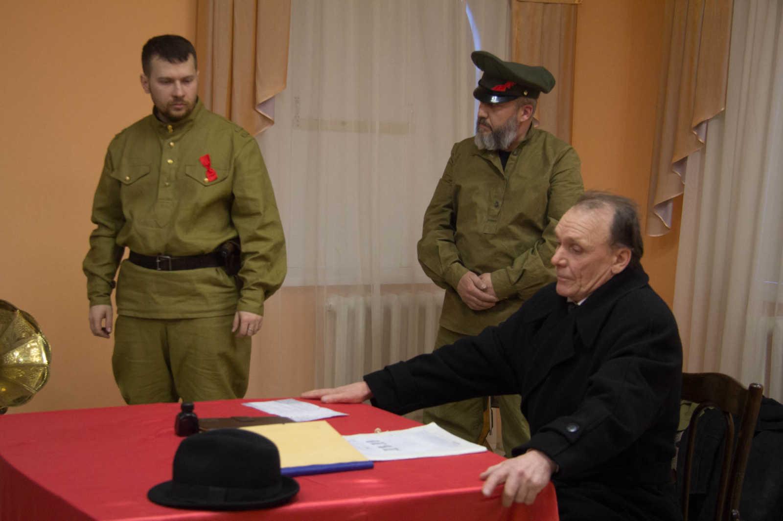 Спектакль «Где брат твой?», храм прп.Сергия Радонежского г.Челябинск, 2019