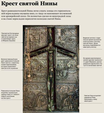 Крест святой Нины