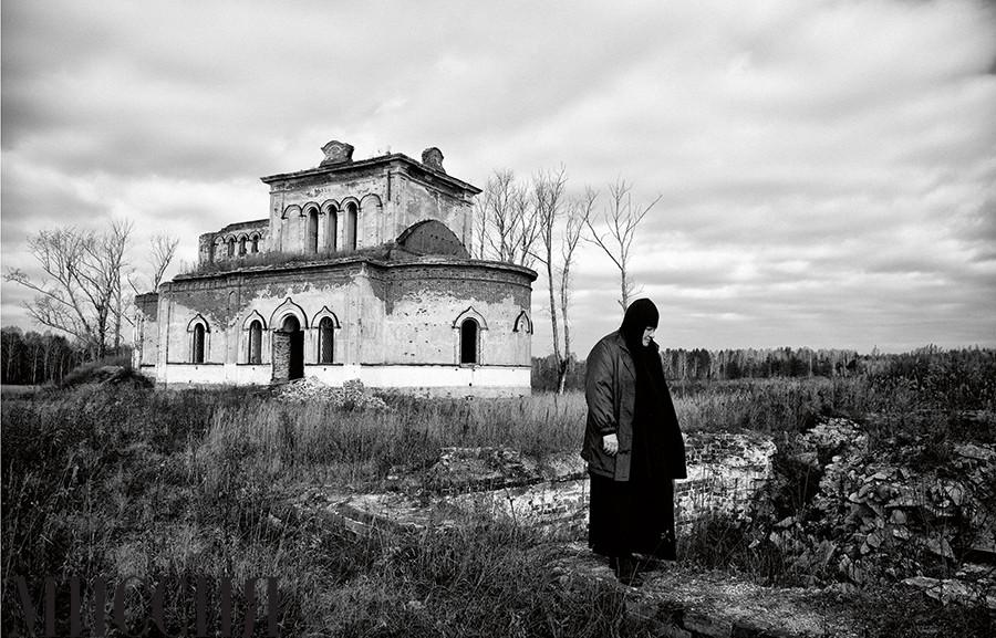 Матушка Феодосия, храм в Булзи