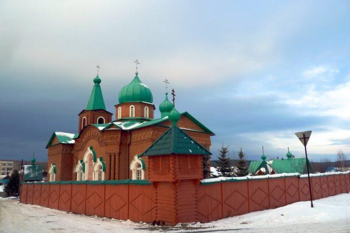 Свято-Троицкий Всецарицынский мужской монастырь, село Тарасково Свердловской области