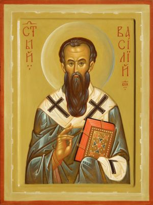 Святитель Василий Великий, икона