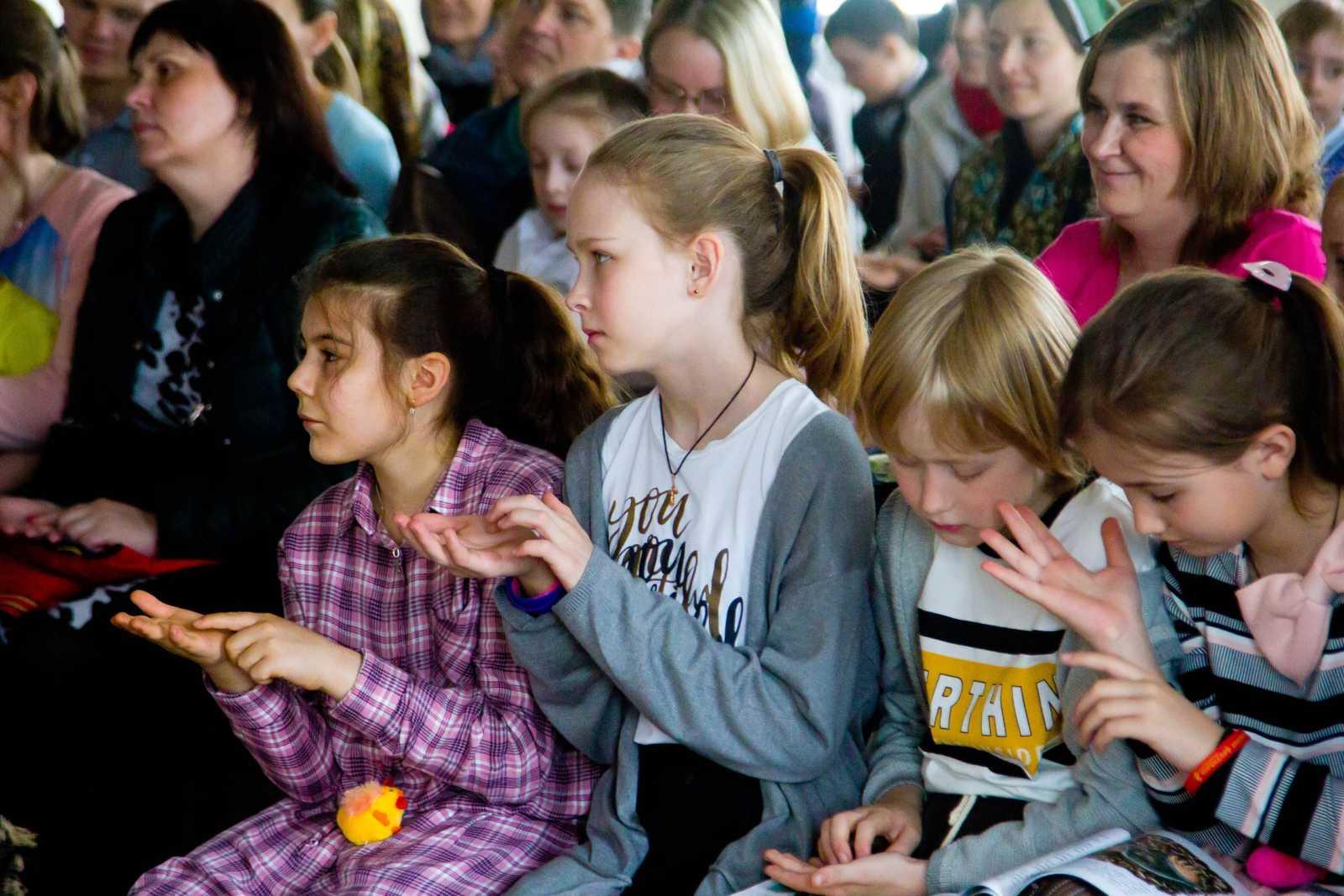 Пасхальный концерт на приходе храма прп.Сергия Радонежского, Челябинск, 2019