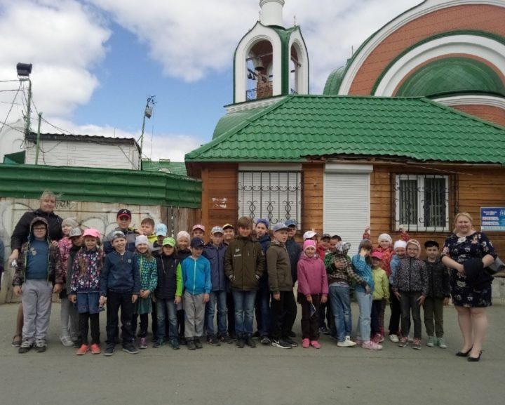 """30 гимназистов стали гостями КПЦ """"Наследие"""" при Свято-Сергиевском храме"""