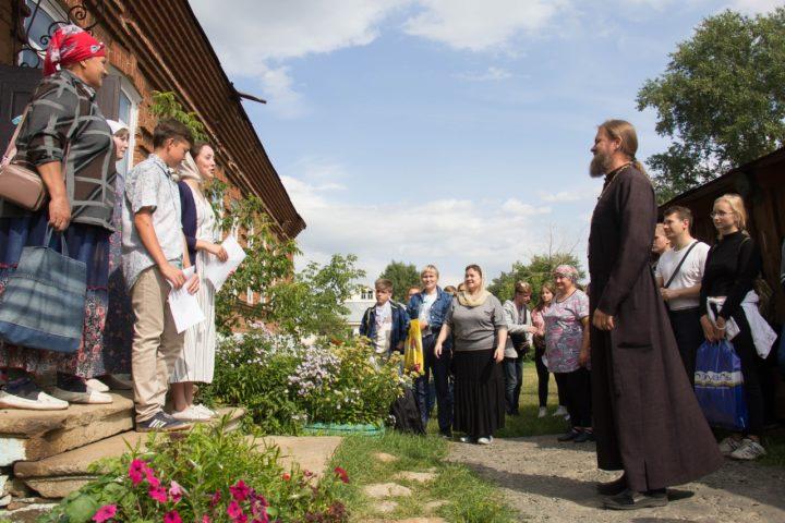 Первый день Миссионерского крестного хода