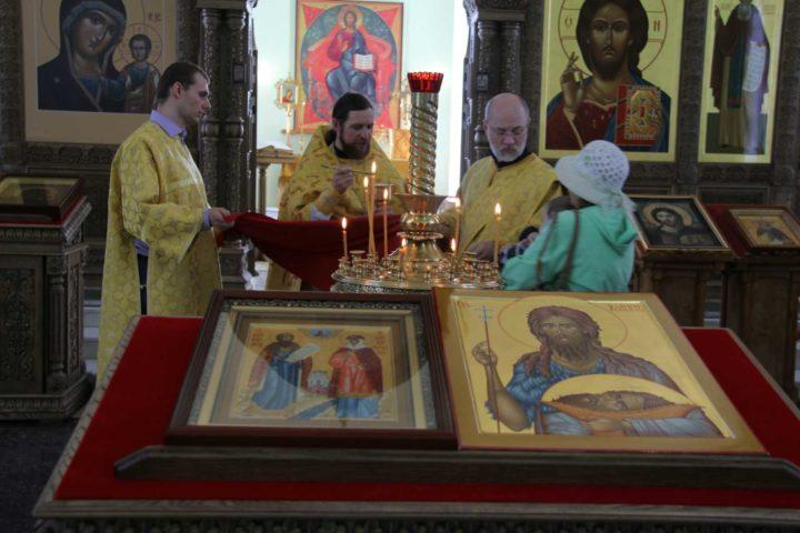 Рождество Иоанна Предтечи и обет трезвости на приходе