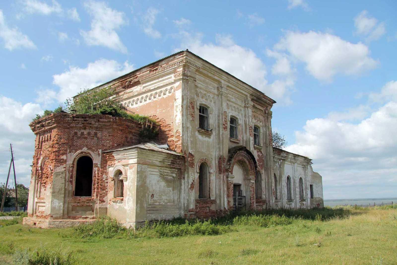 Церковь Сретения Господня в селе Клепалово