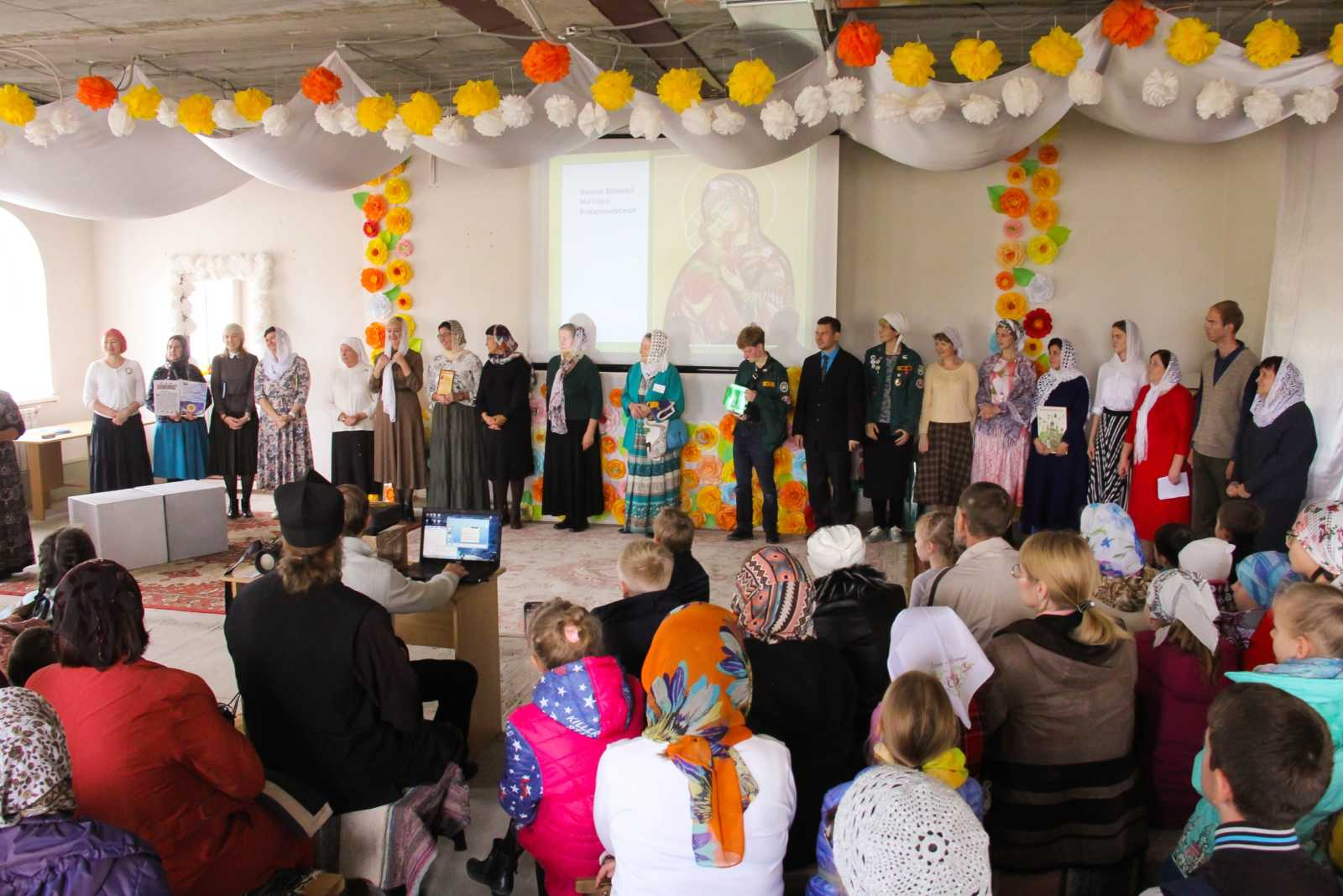 Начало учебного года в Воскресной школе храма преп Сергия Радонежского г.Челябинска, 2019-2020