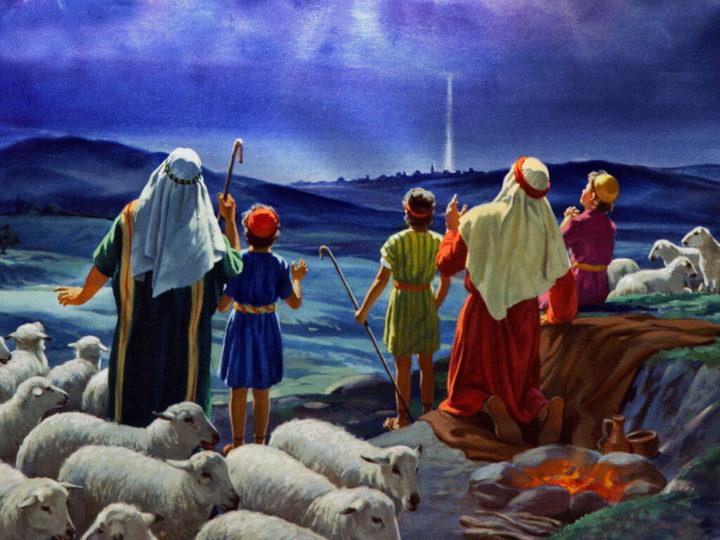 Картинки ангел рождества явился пастухам