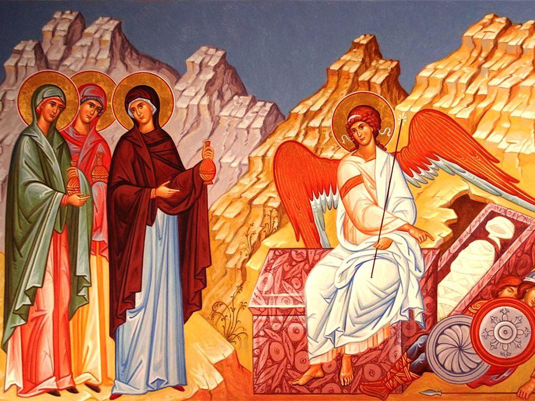 Св Жены Мироносицы икона