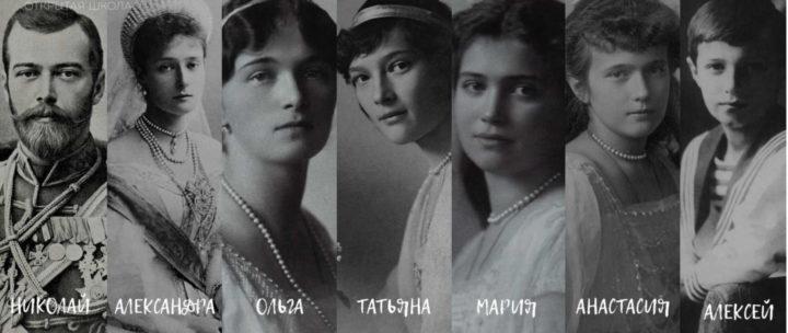 Царственные страстотерпцы: царь – мученика Николай II и его семья, фотография