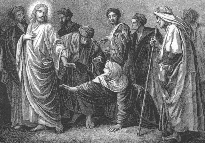 Господь Иисус Христос и хананеянка