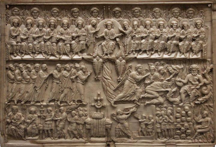 0 Страшный суд. Византия 12в