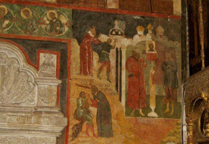 9 ц. Св. Троицы в Никитниках.17 в